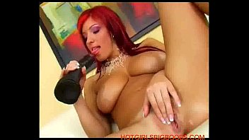 Dana robbins video nude Beautiful big tits redhead plays with a giant dildo