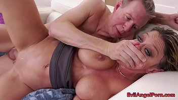 MILF with big ass and tits gets hardcore anal sex