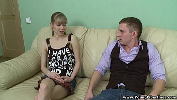 Young Libertines - Fucking Young Wife Kristina C After Work Teen Porn
