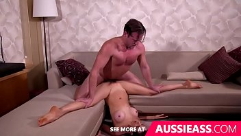 Australian adult movie stars Cute aussie girl does splits while fucked upsidedown