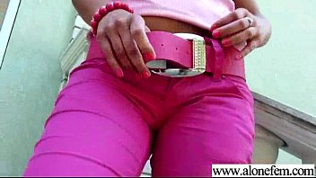 Solo Horny Girl Pleasing Herself On Cam movie-14