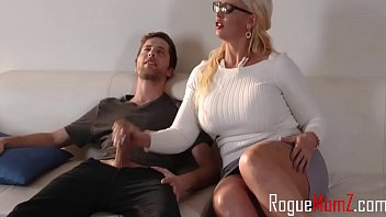 Blonde MILF With Big Tits Gets Off Her Daughter's BF