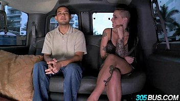 Christy Mack fucks a couple of dudes on the 305bus 3.4