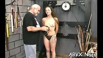 Glorious maid cums with a marital-device