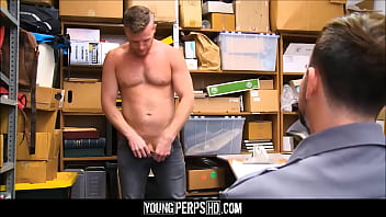 """Straight Jock Caught Shoplifting Fucked By Gay Security Officer <span class=""""duration"""">8 min</span>"""