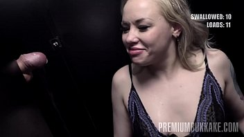 Streaming Video Premium Bukkake - Lola Taylor swallows 36 cum loads in a gloryhole box - XLXX.video