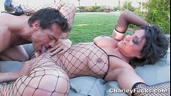 Charley Chase Fucking in Fishnets