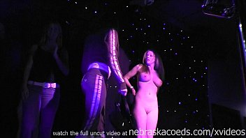 Free teen stuff contest teen 15 - Hot teens nervously getting naked in strip club contest at woodys club iowa