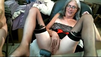 Ugly Mature Woman in Glasses Masturbates Webcam Show CamGirlCumClub.Com