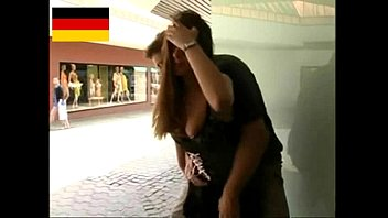 Public fucks - German teen fucks in the public