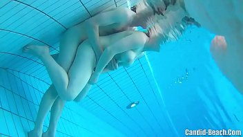 Swinger nudist couples underwater sex spy cam  #1150034