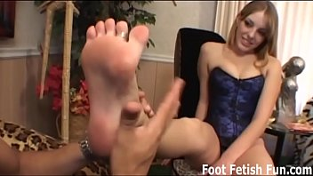 Worship my feet and I will reward you with a footjob