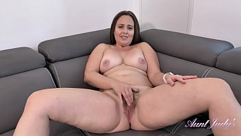 AuntJudys - Busty Full Bush 43yr-old Big Booty MILF Brandii (JOI) 19 min