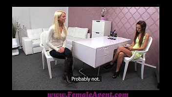 Femaleagent Seriously Sexy Shy Blonde Creates Hot Casting Video