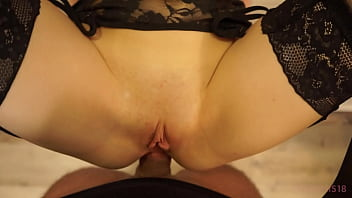Cheating on my Boyfriend in a Rented Apartment and Letting my Lover Fuck in the Ass in the KITCHEN