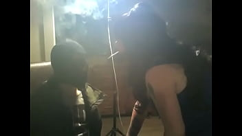 Chubby UK Mistress Tina Snua's Smoke Slaves Breathing In Her Exhales