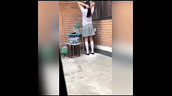 I Fucked my Cute Neighbor College Girl After Washing Clothes ! Real Homemade Video! Amateur Sex! VOL 2