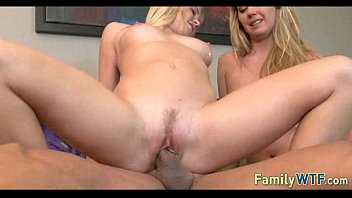 Husband and wife fuck the babysitter 855
