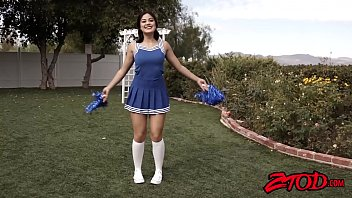 Notre dame cheerleader costume adult - Teen asian cheerleader kendra spade plowed and soaked in cum