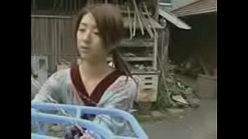 Japanese Young Horny House Wife Force bare back studios