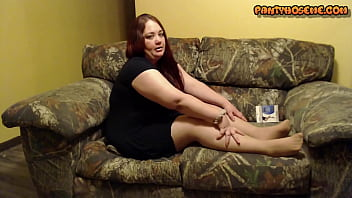 BBW Rose Talks About Her New Sheer Pantyhose