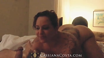 I went to a club, got really crazy and got my husband and friend! - https://onlyfans.com/cassianacosta