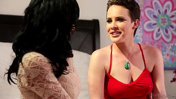 Step-Mother Veronica Avluv and Katie St. Ives Lesbian Affair image