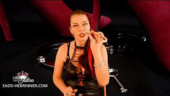 Wear engraved penis cage and lock for mistress Lady Julina