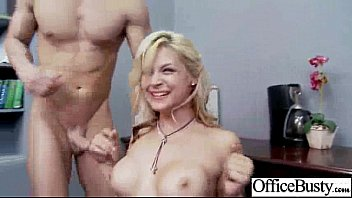 Horny Naughty Girl (sarah vandella) With Big Tits Get Sex In Office clip-28