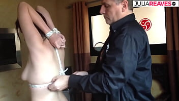 My housekeeper is submissive and wants to be tied up by me.