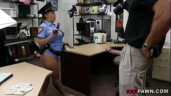 Officer blowjob - Fucking ms. police officer