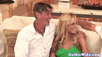 Married babe spitroasted and jizzed in mouth