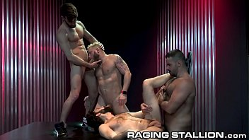 RagingStallion There Are 4 Of Us Here? Let's All Fuck Together!