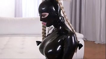 Latex slave lesbian punishment P2 - myfuckingwebcam.com