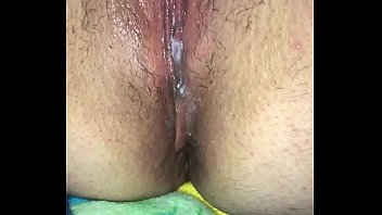 Making my gf cum and squirt over and over