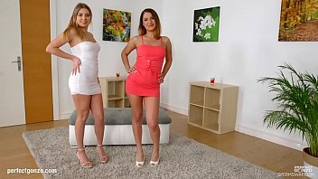 Ellen Betsy & Julia Red swaps sperm after hardcore fuck on Sperm Swap