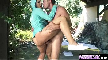 Anal Sex Tape With Curvy Big Ass Oiled Girl (candice dare) vid-18