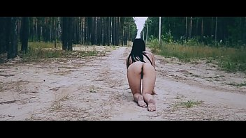 Hot Russian pussy walks naked in a forest park-  https://bongacams.com?fuid=15952680