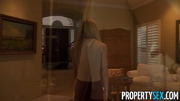PropertySex - Sexy young homebuyer fucks to sell house