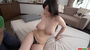 Rie Tachikawa Wants This Dick To Finish On Her Tits - More At Japanesemamas Com
