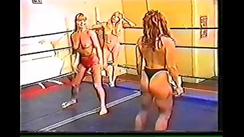 Nude female street fights Tina vs candi vs julie