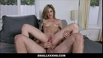 Petite Blonde Teen Stepsister Roxy Ryder Family Fucked To Orgasm By Big Dick Stepbrother POV