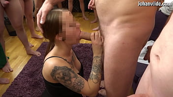 Gangbang with young Swedish girl!