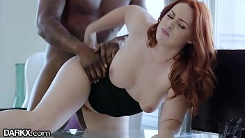 Redheads dumpstersluts Darkx curvy redhead drilled by bosses bbc on desk
