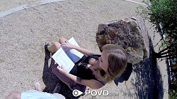 POVD - Alexis Adams has sex with a stranger in POV thumbnail