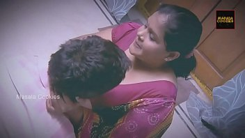 Chubby Indian \/ Desi Lady with younger man