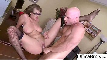 Superb Office Girl (cassidy banks) With Round Big Boobs Fucked Hardcore vid-11