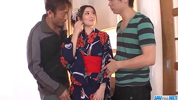 Perfect threesome scenes with Kaori Maeda - More at javhd.net
