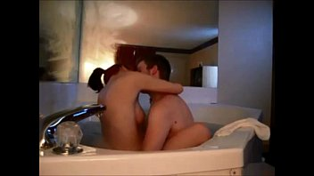 Hot redhead on real homemade