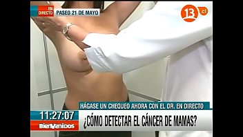How to perform your own breast exam Big tits latina breast exam on tv